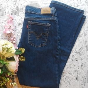 Levi's Relaxed Boot Cut 550 Jeans